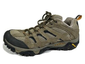 Merrell Moab Ventilator Brown Leather Hiking Shoes Men's 10.5