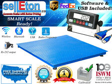 """2500 lb / .5 lb (40"""" x 40"""") Floor Scale /Pallet Scale with Software & USB!"""
