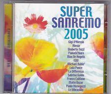 SUPERSANREMO 2005 CD ALBUM VARIOUS ARTISTS MATIA BAZAR/UMBERTO TOZZI.....