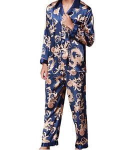 pigiama uomo in raso trattato Fantasia Versace
