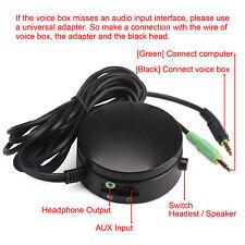 PC Speakers/Headphones Knobs Audio Switch Converter Volume USB Wire Controller
