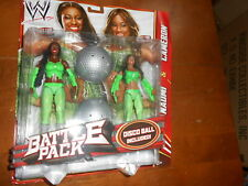 WWE BATTLE PACK NAOMI AND CAMERON FIRST TIME IN LINE FUNKADACTYLS!!!C'MON BOOGEY