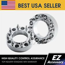 2 Wheel Adapters 8x170 To 8x200 For Ford Super Duty Front Axle Only Hub Centric