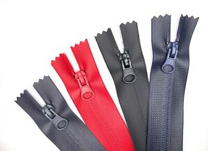 Waterproof Zip No.5 Two-way & Continuous Zipper Different Colours with Sliders