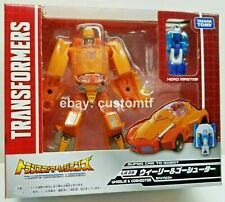 Takara Tomy Transformers Legends LG29 Wheelie & Go-Shooter Headmasters *B1#5
