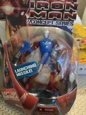 Marvel Comics Marvel Legends Iron Man Captain America Armor Iron Man movie NEW
