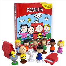 PEANUTS-SNOOPY Busy Book-STORIA 12 cifre e un Playmat Free P+P