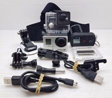 AS IS FAULTY* GOPRO HERO 3+ SILVER EDITION ACTION SPORTS VIDEO CAMERA