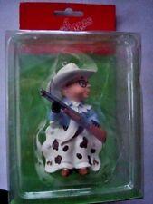 Brand New Ralphie Cowboy Dept 56 A Christmas Story Ornament holding gun Rare