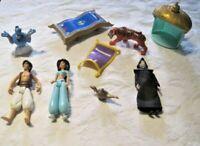Disney Aladdin Lot ~ Aladdin, Jasmin, Rajah, Jafar, Genie & More