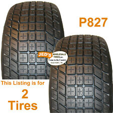 2) 20x8-12 20/8-12 Golf Cart TIREs Journey P827 4ply DOT road Legal 200/50-12