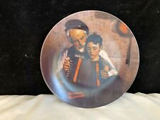 Norman Rockwell Collector's Plate The Music Maker 1981 Limited Edition