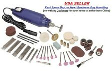 80pc Rotary Tool Kit Hobby Craft Cut Drill Grind Glass Jewelry fits All Bits