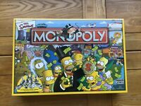 Brand new and sealed the Simpsons monopoly board game hasbro parker 2003