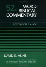 Revelation 17-22, Vol. 52C (Word Biblical Commentary) by David E. Aune