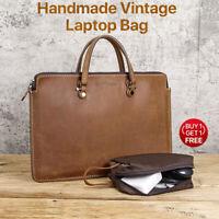 13.3'' Laptop Bag Sleeve Leather Handbag Cover For 13'' MacBook Air Pro Retina