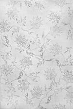 Silver Fern 2'x3' Etched Glass Privacy Static Cling Window Film White Door Decor
