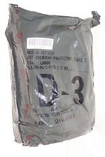 Military Issue Chemical Suit Six Color Desert Camo, sealed package, Sz LARGE
