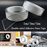 Multi-function Double-sided Adhesive Tape Washable Removable Tapes Gel Grip New