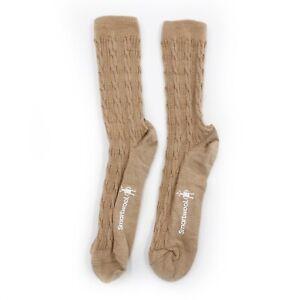 Smartwool M Medium 6-8.5 Women Lightweight Cable Crew Socks