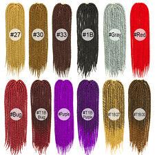 Long 24 inches HAVANA MAMBO TWIST Crochet Braids for Black Women Synthetic Fiber