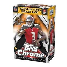 2015 Topps Chrome Football 8 Pack Box Factory Sealed