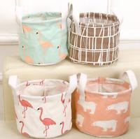 Foldable Storage Bin Closet Toy Box Jewelry Container Organizer Fabric Basket
