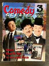 Comedy Greats The Best of WC Fields/Utopia/The Road to Bali DVD 1999 3-Disc Set