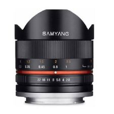 Samyang 8mm f/2.8 UMC Fisheye II Lens for Sony E Mirrorless Camera - Black