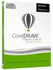 Corel DRAW Graphics Suite X8 Special Edition OEM mit AfterShot 3 VBA Deutsch Box