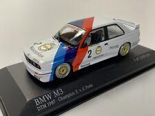 Minichamps BMW M3 E30 DTM Champion v.d.Poele 1987