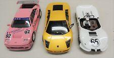 3 Modern 1/32 Slot Cars