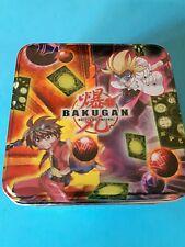 SCATOLA BAKUGAN PER 4 SFERE TIN BOX 2010