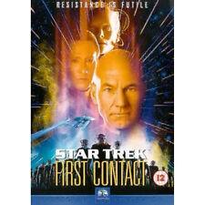 STAR TREK 8 FIRST CONTACT PATRICK STEWART PARAMOUNT UK REGION 2 DVD NEW & SEALED