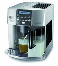 DeLonghi One Touch ESAM 3600 Kaffeevollautomat Elegance (Milchbehälter) silber