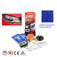 Professional Car Headlight Lens Restoration Repair Kit Polishing Cleaner Tool