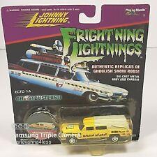 "Johnny Lightning ""HAULIN HEARSE"" Frightning Lightning Ghostbusters Yellow New"
