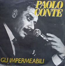 """7"""" 1984 RARE! Paolo Conte: gli impermeabili/MINT -? \"""
