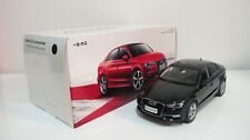 1:18 2012 AUDI A3 SEDAN BLACK DIECAST CARS DEALER BOX
