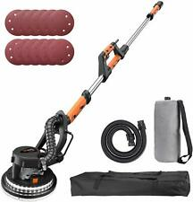 TACKLIFE Drywall Sander, 6.7A(800W), Automatic Vacuum System, 12 Sanding Discs,