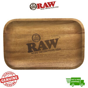RAW Wood Rolling Tray Limited Edition Tray with Certificate Hand Made Rolling