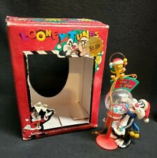 Sylvester and Tweety Warner Bros Looney Tunes Christmas Ornament 1997