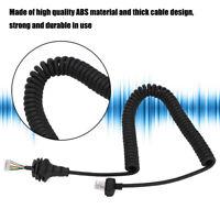 Walkie Talkie Speaker Mic Cable for ICOM Kenwood Ham Radio Handheld Microphone
