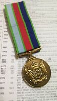 NEW ZEALAND DEFENCE SERVICE MEDAL - FULL SIZE REPLICA MEDAL.