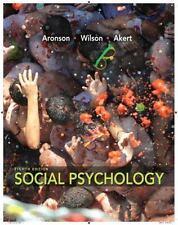 Social Psychology (8th Edition) ~ Aronson, Elliot; Wilson, Timothy D.; Akert, Ro