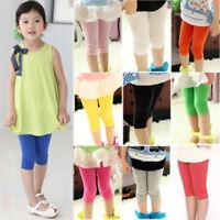 Children Baby Girls Toddler Tights Leg Warm Fall Elastic Shorts Pants Trousers