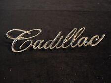 """Cadillac Chrome Emblem part number 1488282"