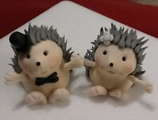 Hedgehogs Handmade edible cake toppers birthday wedding decoration party theme