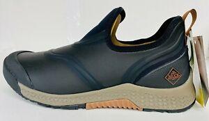 Muck Men's Outscape Low OSS-000 BLACK Shoe Half Sizes 100% Waterproof