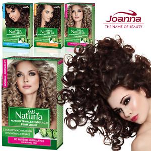 Joanna Perm Lotion Liquid Kit Salon Effect at Home Curly Wavy Hair Perming Set
